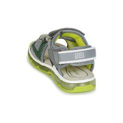Sandały sportowe Dziecko  Geox  J S.ANDROID B.A. Szare buty sportowe chłopięce Geox. Za 231,20 zł.