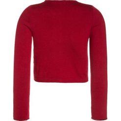 Swetry chłopięce: Sisley Kardigan red