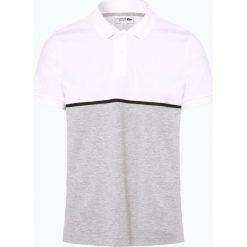 Lacoste - Męska koszulka polo, czarny. Szare koszulki polo marki Lacoste, z bawełny. Za 379,95 zł.