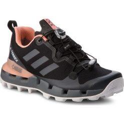 Buty adidas - Terrex Fast Gtx-Surround W GORE-TEX AQ0371 Cblack/Grefiv/Chacor. Czarne buty trekkingowe damskie Adidas. W wyprzedaży za 479,00 zł.