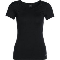 Casall ESSENTIALS TEE Tshirt basic black. Czarne t-shirty damskie Casall, z elastanu. Za 149,00 zł.