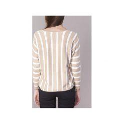 Swetry Only  AYA. Szare swetry klasyczne damskie marki ONLY, s, z bawełny, casualowe, z okrągłym kołnierzem. Za 119,20 zł.