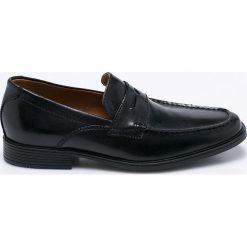 Clarks - Półbuty Tilden Way. Czarne buty wizytowe męskie Clarks, z gumy. W wyprzedaży za 239,90 zł.