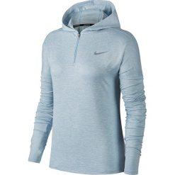Bluza do biegania damska NIKE ELEMENT HALF ZIP HOODIE / 855515-452 - NIKE ELEMENT HALF ZIP HOODIE. Czarne bluzy rozpinane damskie marki Nike, xs, z bawełny. Za 207,00 zł.