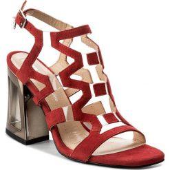 Sandały damskie: Sandały SOLO FEMME - 60820-11-G13/000-07-00 Czerwony