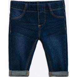 Blukids - Jeansy dziecięce 68-98 cm. Niebieskie jeansy dziewczęce Blukids, z bawełny. W wyprzedaży za 39,90 zł.