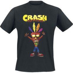 Crash Bandicoot Aku Aku T-Shirt czarny. Czarne t-shirty męskie z nadrukiem marki Strategia. Za 74,90 zł.