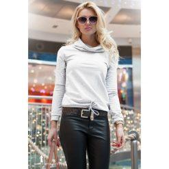 Bluzy damskie: Biała Bluza F302