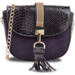 Torebka MONNARI - BAG8060-020 Black. Czarne torebki klasyczne damskie Monnari, z materiału. W wyprzedaży za 149,00 zł.
