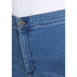 Topshop Tall JONI  Jeans Skinny Fit middenim. Niebieskie rurki damskie Topshop Tall. Za 209,00 zł.