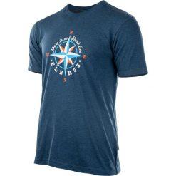 ELBRUS Koszulka męska Surgens Blue Opal Melange r. XXL. Niebieskie koszulki sportowe męskie marki ELBRUS, m. Za 39,69 zł.
