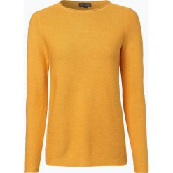 Franco Callegari - Sweter damski, żółty. Zielone swetry klasyczne damskie marki Franco Callegari, z napisami. Za 229,95 zł.