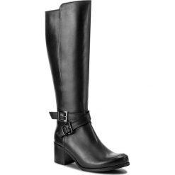 Kozaki KARINO - 2482/076-F Czarny. Fioletowe buty zimowe damskie marki Karino, ze skóry. W wyprzedaży za 339,00 zł.