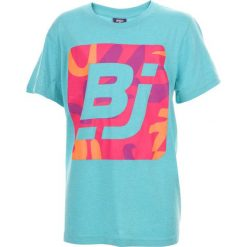 T-shirty chłopięce: BEJO Koszulka dziecięca Logo BJ niebieska r. 158