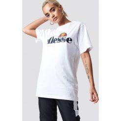 Ellesse T-shirt Al Albany - White. Białe t-shirty damskie Ellesse, z nadrukiem, z bawełny. Za 161,95 zł.