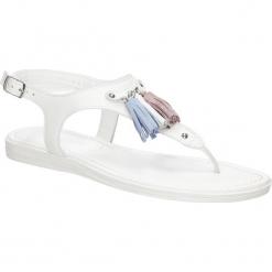 Sandały skórzane Marco Tozzi 2-28142-38. Szare sandały damskie marki Marco Tozzi. Za 149,99 zł.