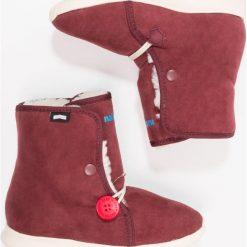 Native LUNA Śniegowce spice red/bone white. Czerwone buty zimowe damskie Native, z materiału. W wyprzedaży za 169,50 zł.
