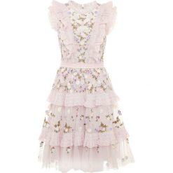 Sukienki hiszpanki: Needle & Thread DITSY MINI DRESS Sukienka koktajlowa lilac