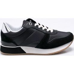 Tommy Hilfiger - Buty. Czarne buty sportowe damskie TOMMY HILFIGER, z gumy. W wyprzedaży za 319,90 zł.
