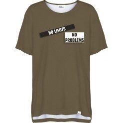 Colour Pleasure Koszulka damska CP-033 270 zielona r. uniwersalny. T-shirty damskie Colour pleasure, uniwersalny. Za 76,57 zł.