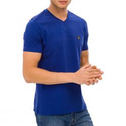 T-shirt w kolorze niebieskim. Niebieskie t-shirty męskie GALVANNI, m. W wyprzedaży za 84,95 zł.