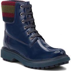 Trapery GEOX - A Asheely B D847AB 000BC C4000  Blue. Niebieskie buty zimowe damskie marki Geox, z materiału. W wyprzedaży za 419,00 zł.