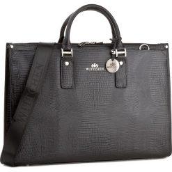 Torba na laptopa WITTCHEN - 15-4-067-1J Czarny. Czarne plecaki męskie Wittchen. W wyprzedaży za 569,00 zł.