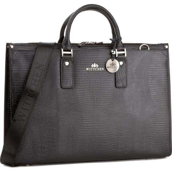 40e2f5a0b5d59 Torba na laptopa WITTCHEN - 15-4-067-1J Czarny - Czarne plecaki ...