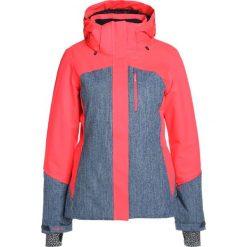 Brunotti JAREZZO Kurtka snowboardowa punch pink. Czerwone bomberki damskie Brunotti, xxl, z materiału, narciarskie. W wyprzedaży za 639,20 zł.