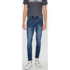 Only & Sons - Jeansy Spun. Niebieskie jeansy męskie regular Only & Sons, z bawełny. W wyprzedaży za 119,90 zł.