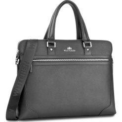 Torba na laptopa WITTCHEN - 85-3U-115-1 Czarny. Czarne plecaki męskie Wittchen. W wyprzedaży za 419,00 zł.