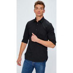 Guess Jeans - Koszula Collins. Szare koszule męskie jeansowe marki Guess Jeans, l, z aplikacjami. Za 319,90 zł.