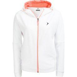 Bluza damska BLD605 - biały - Outhorn. Białe bluzy rozpinane damskie Outhorn, na lato, z bawełny. W wyprzedaży za 59,99 zł.