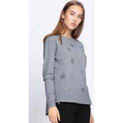 Swetry klasyczne damskie: Szary Sweter Sweet Escape