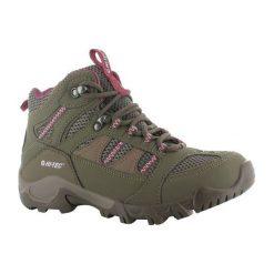 Buty trekkingowe damskie: Hitec Multiplex Buty damskie Bryce II Womens khaki-różowe r.  38