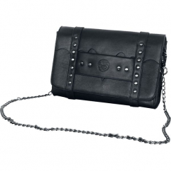 Spiral Bat Wings Torebka - Handbag czarny. Czarne torebki klasyczne damskie Spiral. Za 144,90 zł.