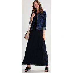 Długie sukienki: Armani Exchange Długa sukienka navy