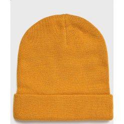 Medicine - Czapka Basic. Pomarańczowe czapki zimowe męskie MEDICINE, na zimę, z dzianiny. Za 39,90 zł.