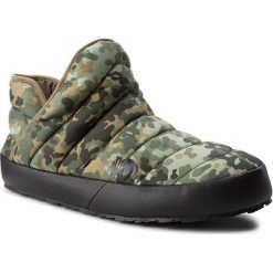 Kapcie THE NORTH FACE - Thermoball Traction Bootie T93MKH5QU Tarmac Green Macrofleck Print/Tumbleweed Green. Zielone kapcie męskie The North Face, z gumy. Za 249,00 zł.