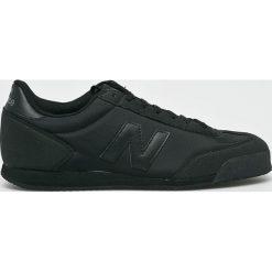New Balance - Buty. Czarne halówki męskie New Balance, z gumy, na sznurówki. Za 299,90 zł.