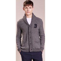 Swetry rozpinane męskie: Bogner ROCCO Kardigan grey