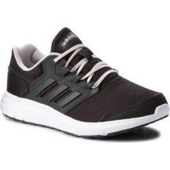 Buty adidas - Galaxy 4 B43837 Cblack/Carbon/Icepur. Czarne buty do biegania damskie marki Adidas, z materiału. W wyprzedaży za 179,00 zł.