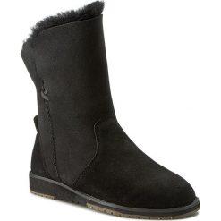 Buty EMU AUSTRALIA - Bells Beach Lo W11361 Black. Czarne buty zimowe damskie marki Superfit, z gore-texu, przed kolano, na wysokim obcasie. Za 639,00 zł.