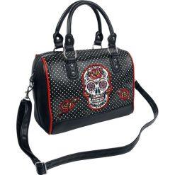 Banned Alternative Dia De Muertos Torebka - Handbag wielokolorowy. Czarne torebki klasyczne damskie Banned Alternative, z aplikacjami, małe, z aplikacjami. Za 164,90 zł.