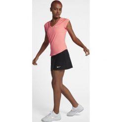 Nike Performance PURE Tshirt basic lava glow/white. Czerwone topy sportowe damskie marki Nike Performance, xl, z elastanu. Za 189,00 zł.