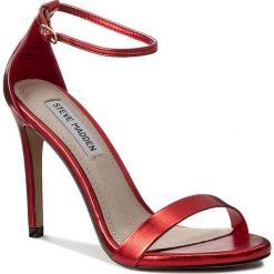 Sandały damskie: Sandały STEVE MADDEN – Stecy Sandal 91000080-0W0-07004-03012 Red Metallic