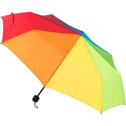 """Parasole: Parasol """"Rainbow"""" z kolorowym wzorem"""