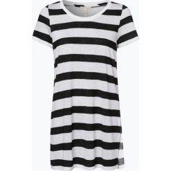 Esprit Casual - T-shirt damski, czarny. Czarne t-shirty damskie Esprit Casual, xl, w paski. Za 129,95 zł.