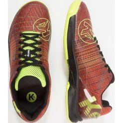 Kempa ATTACK TWO CONTENDER Obuwie do piłki ręcznej tomato red/black/fluo yellow. Czerwone buty do koszykówki męskie Kempa, z gumy. Za 459,00 zł.