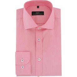 Koszula RICCARDO 16-04-20-K. Szare koszule męskie na spinki marki S.Oliver, l, z bawełny, z włoskim kołnierzykiem, z długim rękawem. Za 169,00 zł.